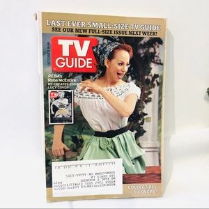 Last Ever Small TV Guide Reba as Lucy